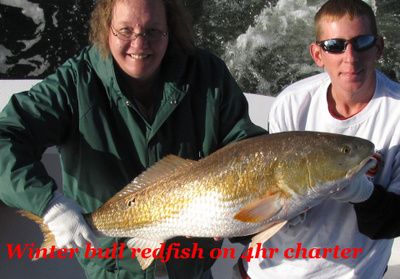 Redfish fishing in Orange Beach, Al