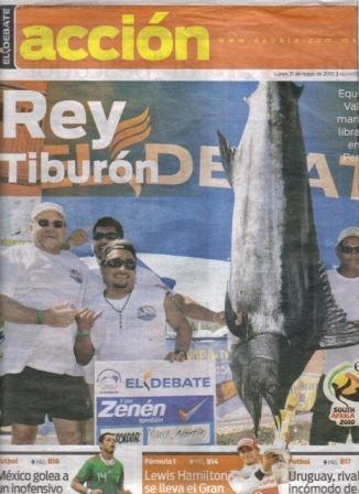Tournament Marlin local Paper