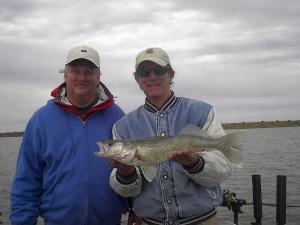 Ute Lake Walleye And Bass Fishing Report