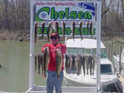 walleye fishing lake erie